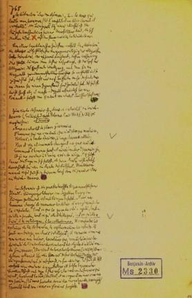 fig 3.a. notas e materiais   Passagens [1937-40]